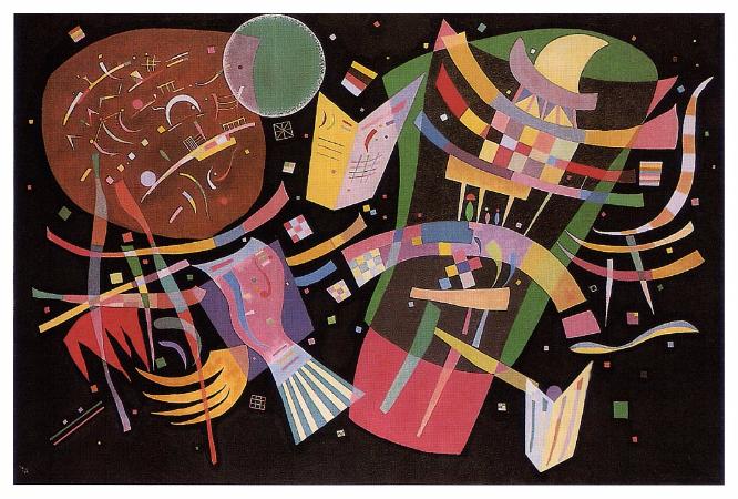 Wassily Kandinsky, Composition X, 1939