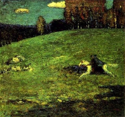 Wassily Kandinsky, Der Blaue Raiter, 1903