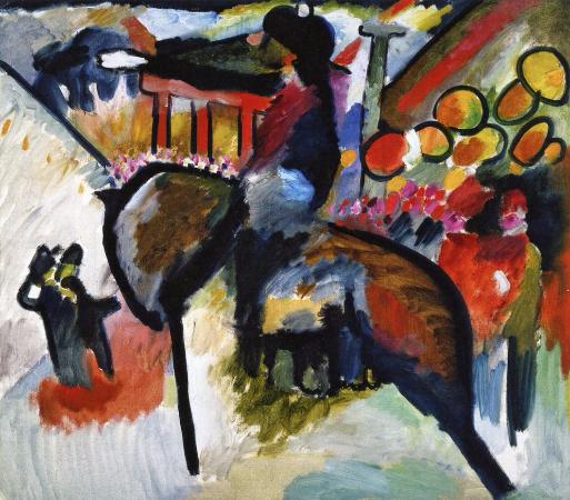Wassily Kandinsky, Impression IV (Gendarme), 1911