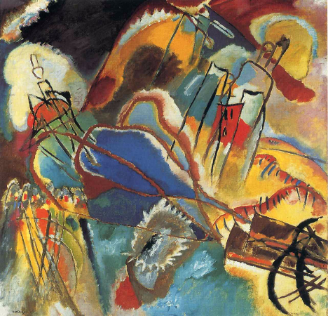 Wassily Kandinsky, Improvisation No. 30 (Cannons), 1913