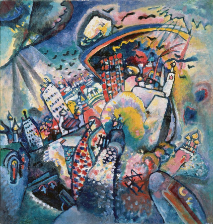 Wassily Kandinsky, Moskow Red Square, 1916