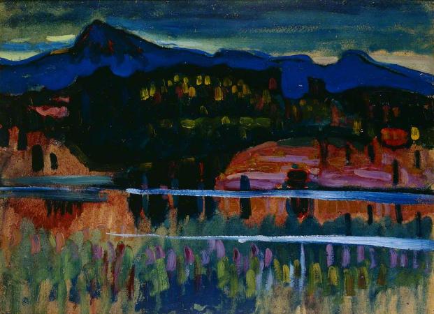 Wassily Kandinsky, Murnau am Staffelsee, 1905