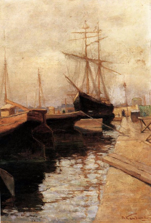 Wassily Kandinsky, Odessa Port, 1898