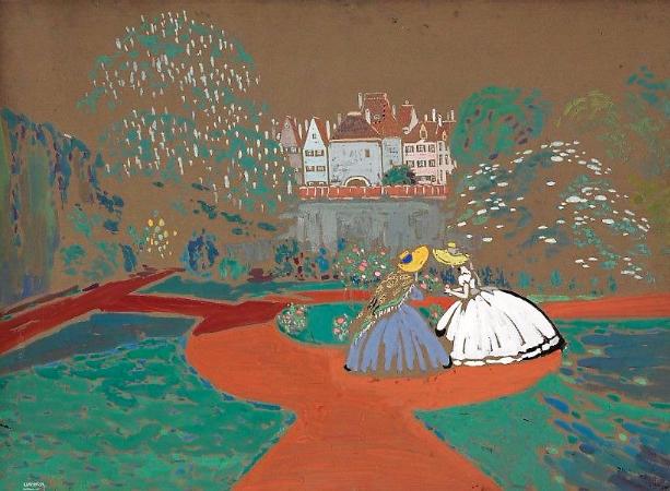 Wassily Kandinsky, Roses, 1905