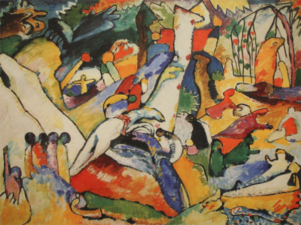 Wassily Kandinsky, Sketch For Composition II, 1909-1910