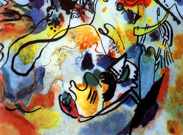 Wassily Kandinsky, The Last Judgment, 1912