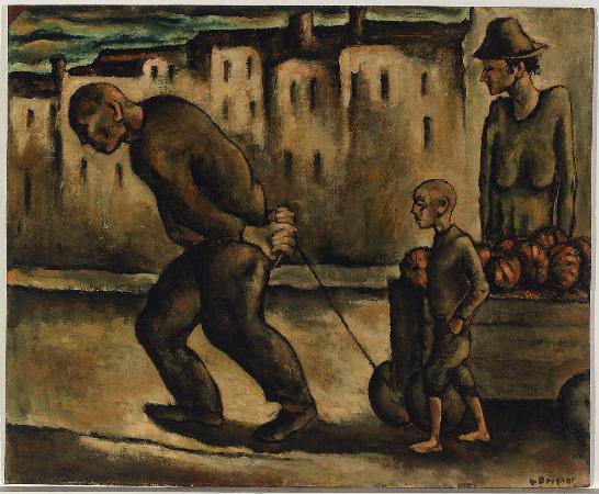 Yosl Bergner, Pumpkins, 1942
