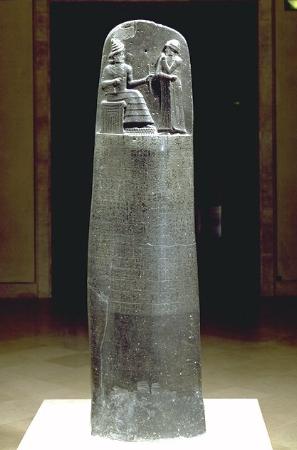 hammurabi kanunlari stel
