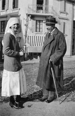 rilke, İsvicre, 1920