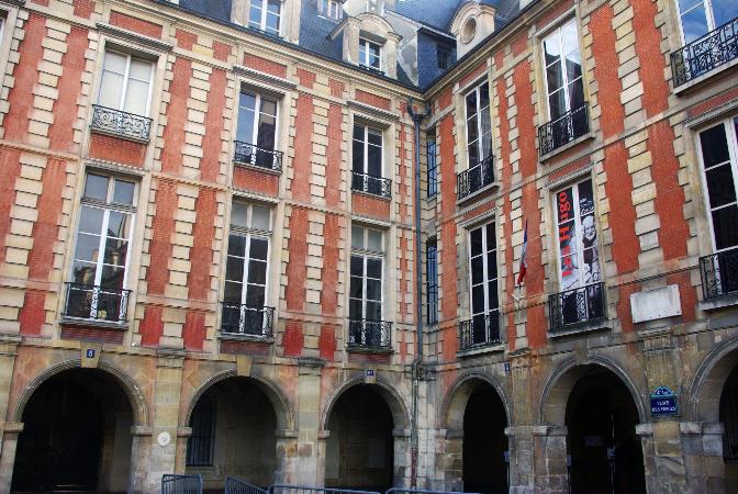 victor hugo Place des Vosges, Paris