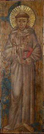 Cimabue, San Francesco, Particolare, 1280-1290