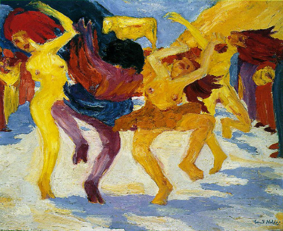 Emil Nolde, Dance Around The Golden Calf, 1910