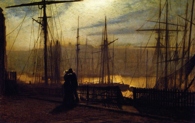 John Atkinson Grimshaw, Home Again, 1879