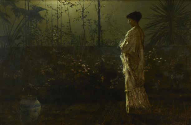 John Atkinson Grimshaw, Night Vigil