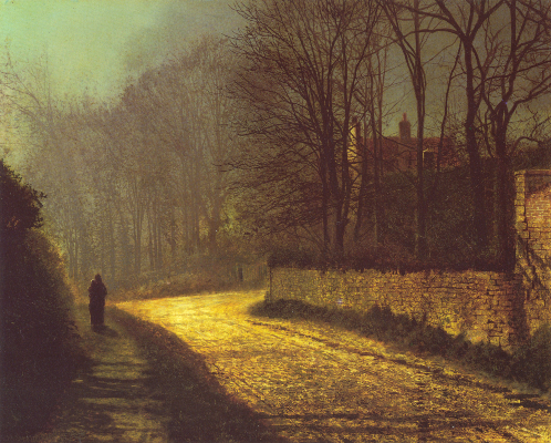 John Atkinson Grimshaw, The Lovers