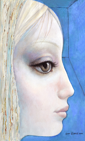 Margaret Keane, My Blue Side, 2006