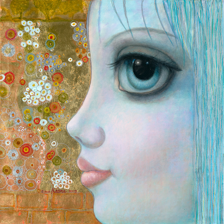 Margaret Keane, My Path Towards Spring, 2015