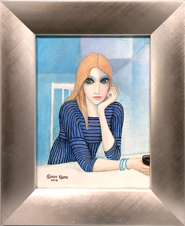 Margaret Keane, Table For One, 2013