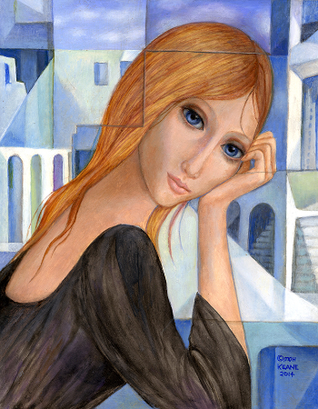 Margaret Keane, Time In And Time Out, 2014