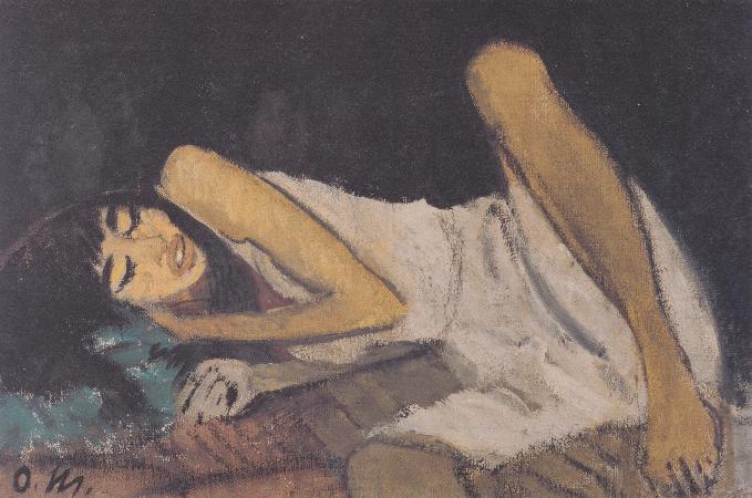 Otto Mueller, Liegende, 1914