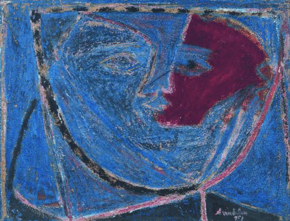 avni arbas, Figur Soyutlamasi, 1951