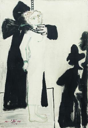 avni arbas, La Pendu, 1954