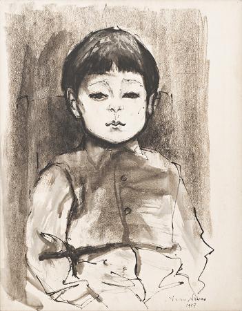 avni arbas, portre, 1957