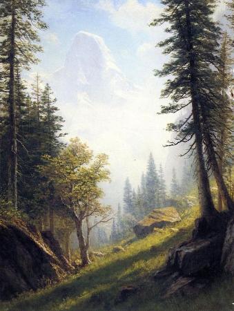 Albert Bierstadt, Among The Bernese Alps, 1859