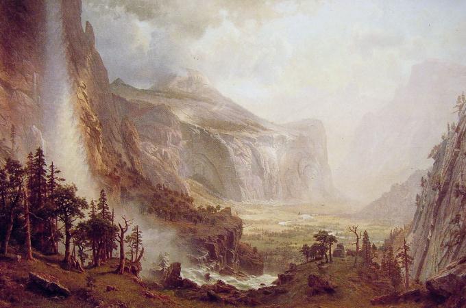 Albert Bierstadt, The Domes of the Yosemite, 1867