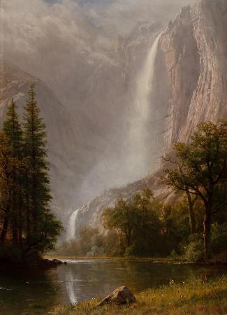 Albert Bierstadt, Yosemite Falls, 1870