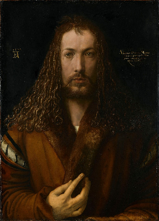 Albrecht Durer, Self Portrait At Age 28, 1500