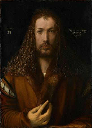 Albrecht Durer, Self Portrait At Age 28, 1500