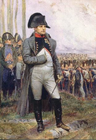 Edouard Detaille, Portrait of Napoleon, 1806