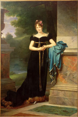 Francois, Baron Gerard, Portrait of Countess Marie Walewska, 1812