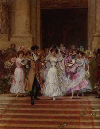 Frederik Hendrik Kaemmerer, The Wedding