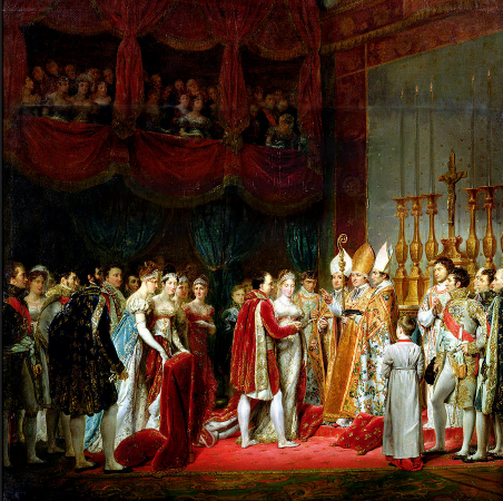 Georges Rouget, The marriage of Napoleon and Marie Louise, 1810