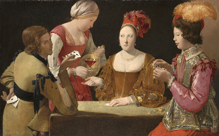 Georges de la Tour, The Cheat With The Ace of Clubs, 1630-34