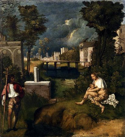Giorgio Barbarelli, The Tempest, 1506-1508