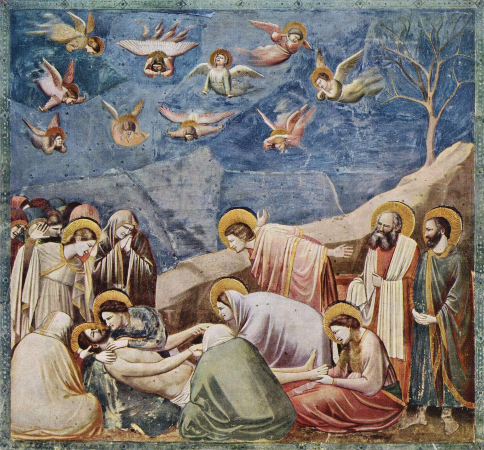 Giotto Di Bondone, No. 36 Scenes from the Life of Christ, 20. Lamentation (The Mourning of Christ), 1304-06