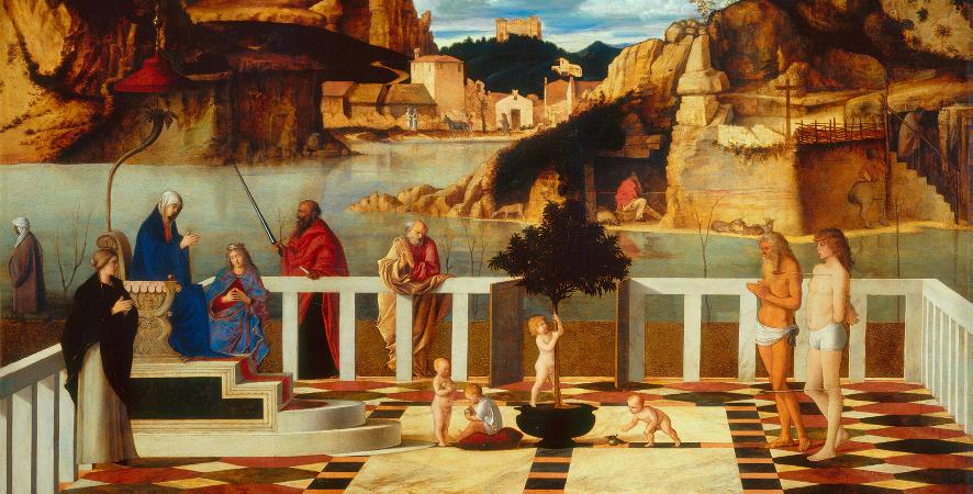 Giovanni Bellini, Sacred Allegory, 1490-99