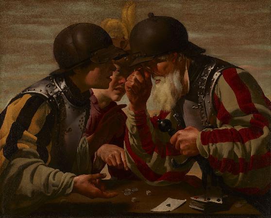 Hendrick ter Brugghen, The Gamblers, 1623