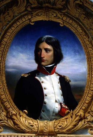 Henri Félix Emmanuel Philippoteaux, Portrait Napoleon, 1835