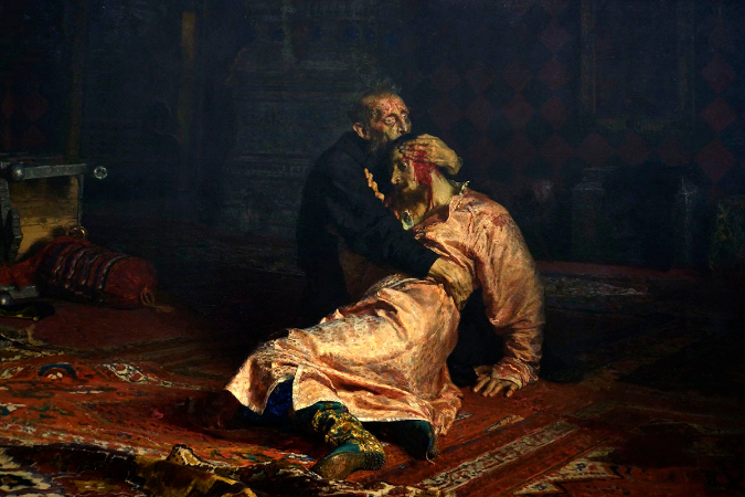 İlya Repin, Ivan The Terrible Killing His Son, 1885