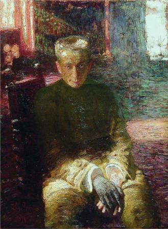 İlya Repin, Portrait of Alexander Kerensky, 1918