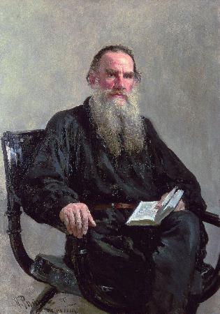 İlya Repin, Portrait of Leo Tolstoy, 1887