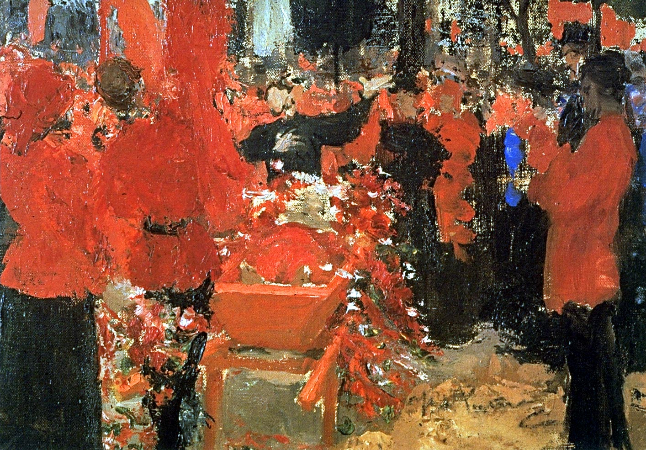 İlya Repin, The Red Funerals, 1906