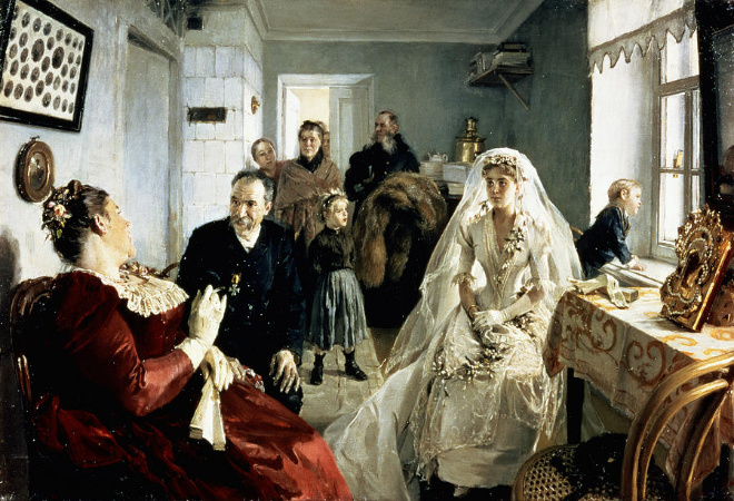 Illarion Mikhailovich, Before The Wedding, 1880