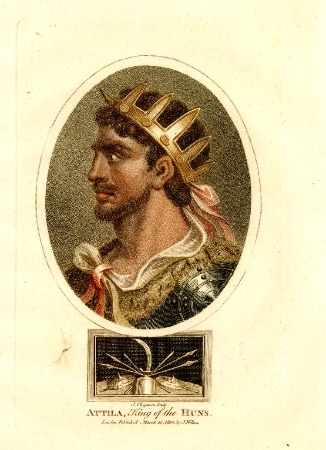 J. Chapman, Attila, King of the Huns, 1805