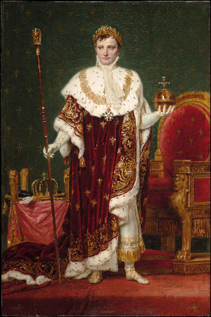 Jacques Louis David, Empire Napoleon I, 1807