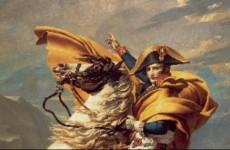 Jacques-Louis David, Napoleon Crossing The Alps, 1800